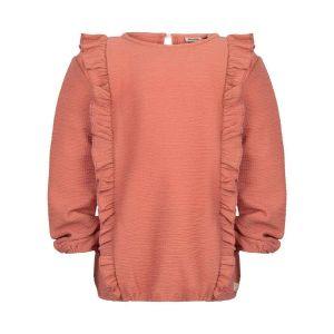 D7 ruffle shirt_Roze