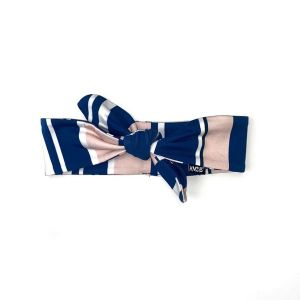 Haarband streep_Blauw