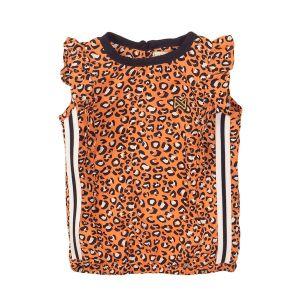 Luipaardblouse kn_Oranje