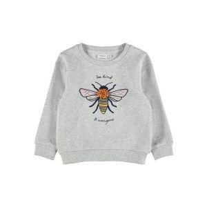 Nmfdassi sweater_Grijs