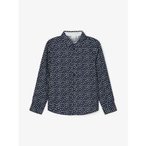 Nmmraz overhemd_Blauw