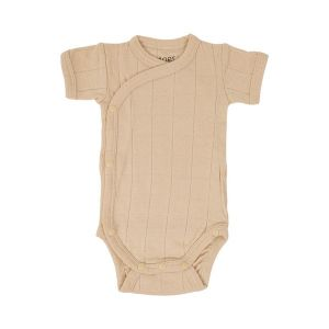 Romper ss tribe solid_Roze