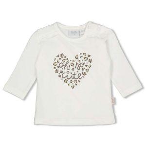 Shirt cutie hart_Off white