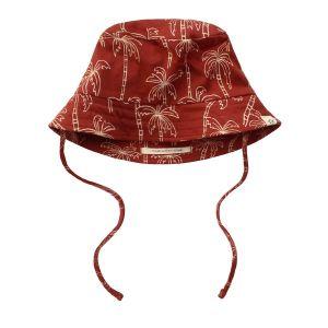 Summer hat palmtrees_Rood