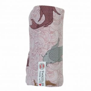 Swaddle Empire Fish_Paars
