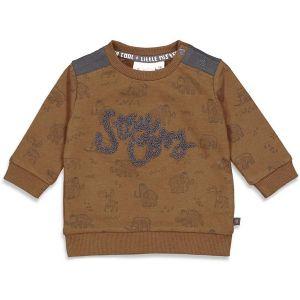 Sweater stay cosy_Bruin